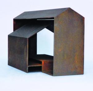 Basilica - Sculpture en acier corten, 2004 - Pierre Hémery