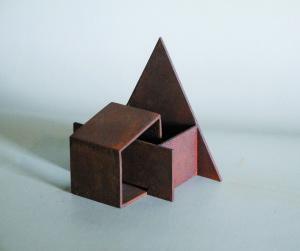 Nohant - Sculpture en acier corten, 2006 - Pierre Hémery