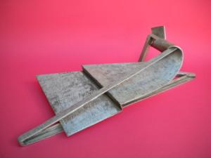 Tsunami, sculpture en acier inox, 2006 - Pierre Hémery