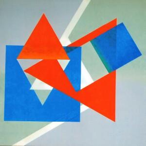 Composition I - peinture de Pierre Hémery
